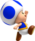 Toad Blue saute