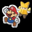 PMOK Artwork Mario und Olivia