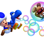 Toad azul y bebé yoshi azul.png