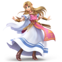 SSBU Artwork Zelda
