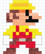 8-Bit Builder Mario