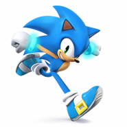 SSB4 Sprite Sonic 2