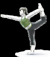 SSB4 Sprite Wii Fit-Trainer 3