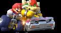 MK8 Artwork Mario und Bowser