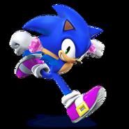 SSB4 Sprite Sonic 1