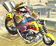 SSBB Screenshot Wario-Bike