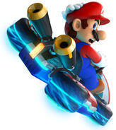 MK8 Artwork Mario