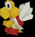 PMOK Artwork Origami-Parakoopa