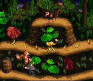 Steel Keg Past Necky - Jungle Hijinxs - Donkey Kong Country