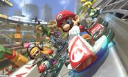 Mario Kart 8 Deluxe Battle Stadium 1