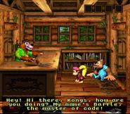 DKC3 Screenshot Baffles Code-Raum