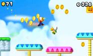 Gold block mario screenshot