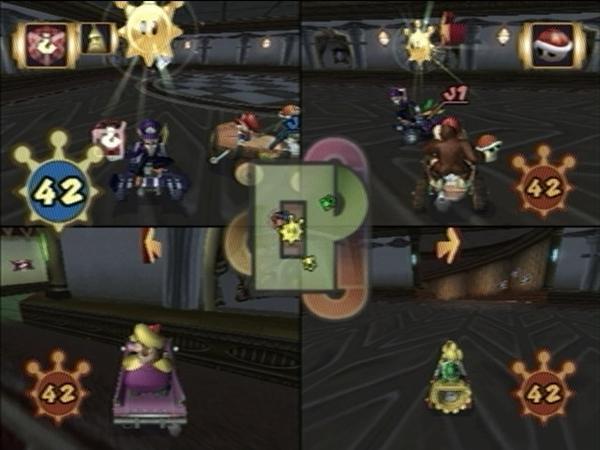 Luigi's Mansion (Mario Kart: Double Dash!!)