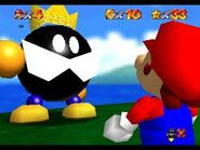 SM64 Screenshot Mario und König Bob-omb