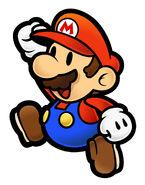 SPM Artwork Mario
