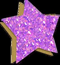 YCW-ÉtoileVioletteDePapier
