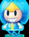 M&L4 Artwork blaues Kisso