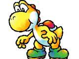 Gelber Yoshi