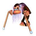 DKC2 Artwork Cranky Kong