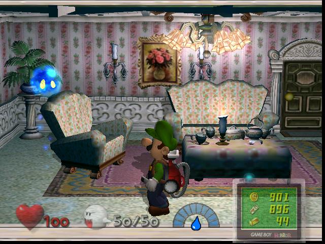 Séjour (Luigi's Mansion)