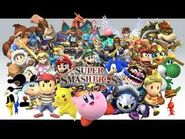 Characters from Super Smash Bros. Brawl.