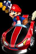 Mario Bomb Lob Artwork - Mario Kart Wii