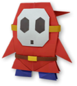 PMOK Artwork Origami-Shy Guy