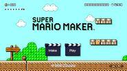 Super Mario Maker - Title Screen - Super Mario Bros. 3
