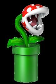Artwork de una Planta Piraña en Mario Party DS