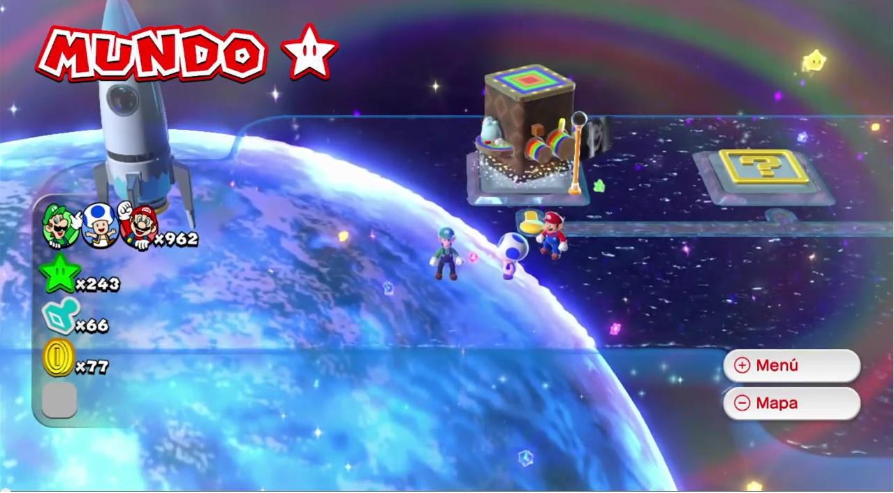 Mundo Estrella (Super Mario 3D World)
