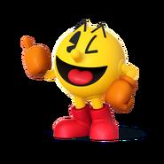 SSB4 Artwork Pac-Man