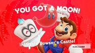 Bowser Castle Power Moon