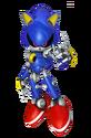 M&S2 Artwork Metal Sonic 3