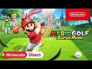 Mario Golf- Super Rush – Announcement Trailer – Nintendo Switch