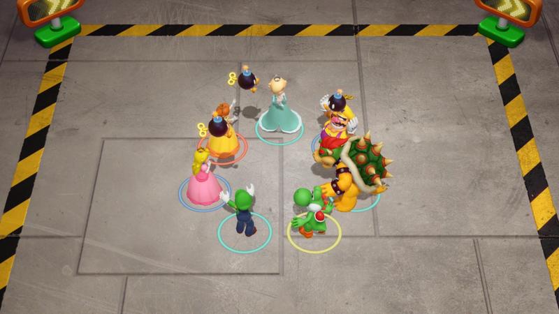 Mini-jeu en équipe
