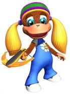 DK64 Artwork Tiny Kong 3