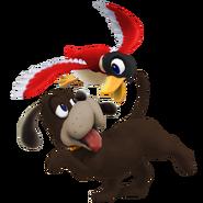 SSB4 Sprite Duck Hunt Duo 7