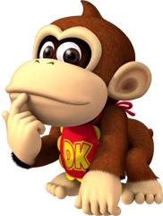 Bebé Donkey Kong