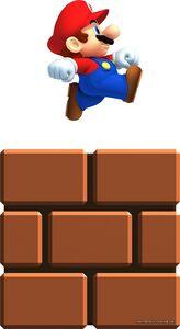 NSMB2 Artwork Mini-Mario