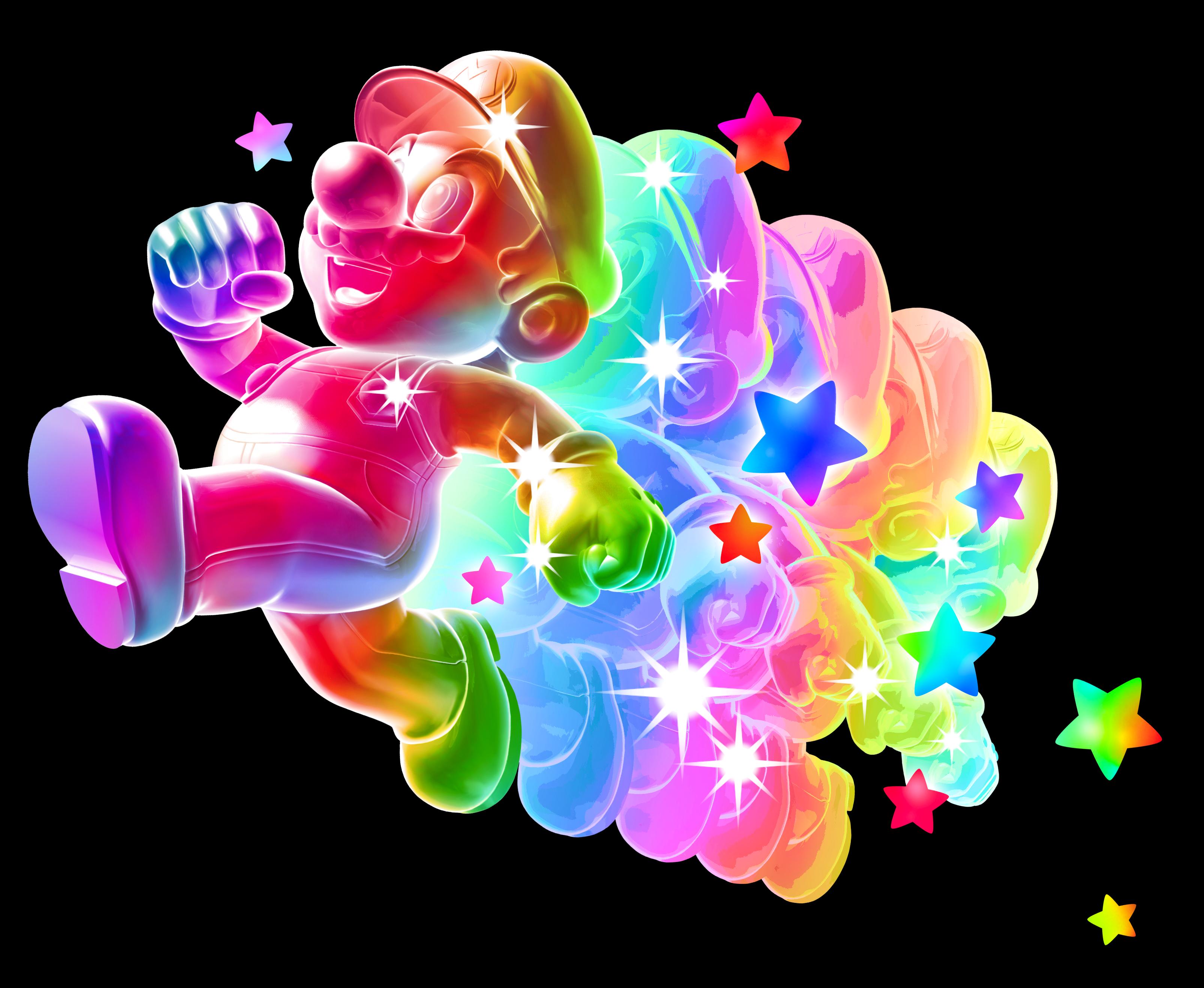 Mario arc-en-ciel