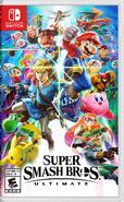 Super Smash Bros. Ultimate Boxart