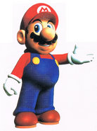 SM64 Artwork Mario 3