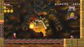 World 8-Castle - Bowser Fight 1 - New Super Mario Bros. Wii