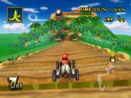 DK Mountain - Bridge - Mario Kart Wii