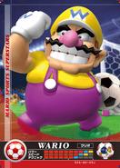 Carte amiibo Wario football