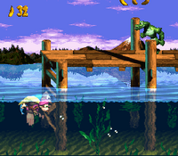 DKC3 Screenshot Lago Limbo.png
