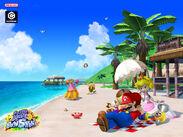 Mario in Gelato Beach