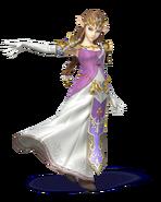 SSB4 Artwork Zelda