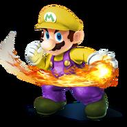 SSB4 Sprite Mario 2