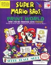 Super Mario Bros. Print World